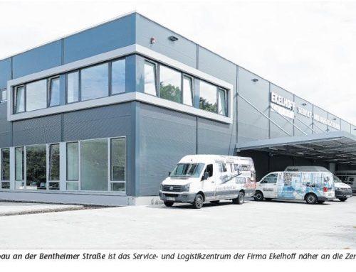 Logistikzentrum der Fa. Ekelhoff Küchen Nordhorn