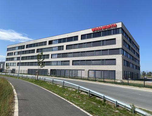 Neubau Firmenzentrale Woolworth in Unna/Kamen